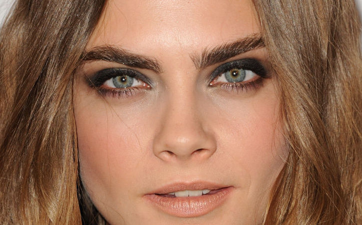 For brows like Cara's... some people will try almost anything, including PRP