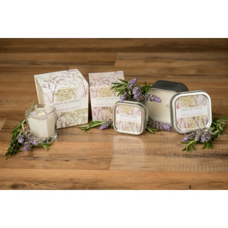 Creative Energy - candles with a dual purpose